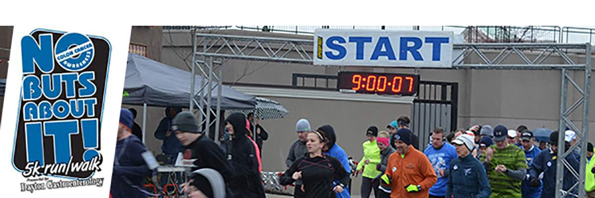 No Buts About It 5k 10th Annual Walk Run For Colon Cancer