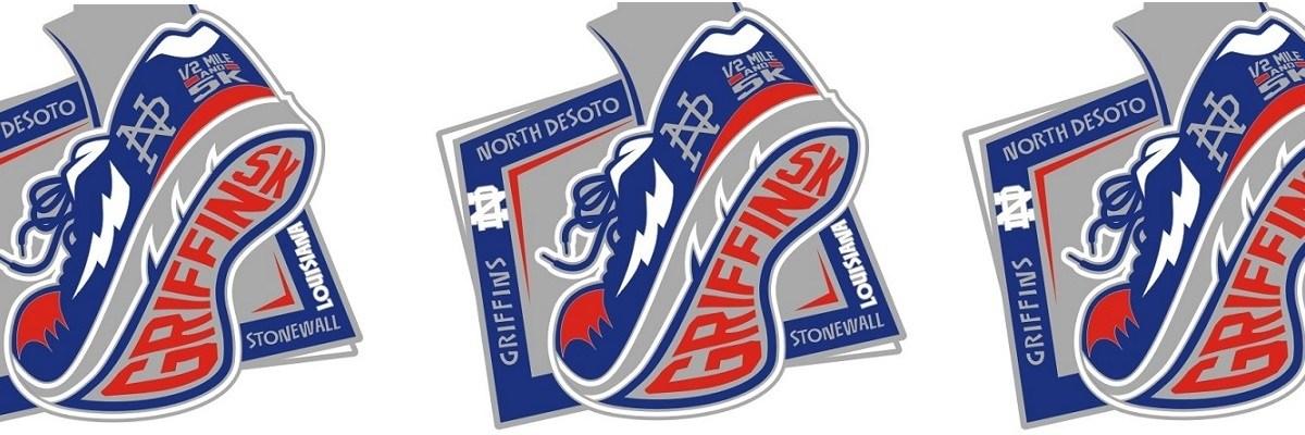 North Desoto Griffin Run 5k Banner Image