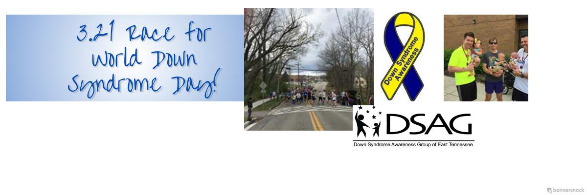 Race 3.21 for Down Syndrome Awareness/3.21K & 3.21Mi Banner Image