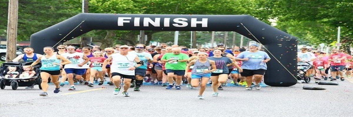 Dad and Daughter 5K Run/Walk Banner Image