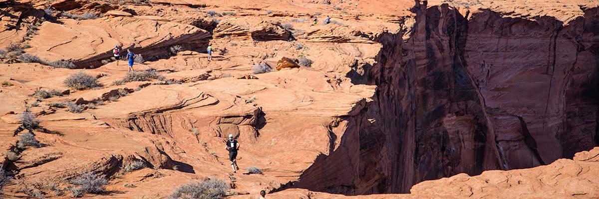 Antelope Canyon Ultra Marathons Banner Image