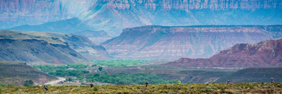 Zion Ultras & Trail Half Marathon Banner Image