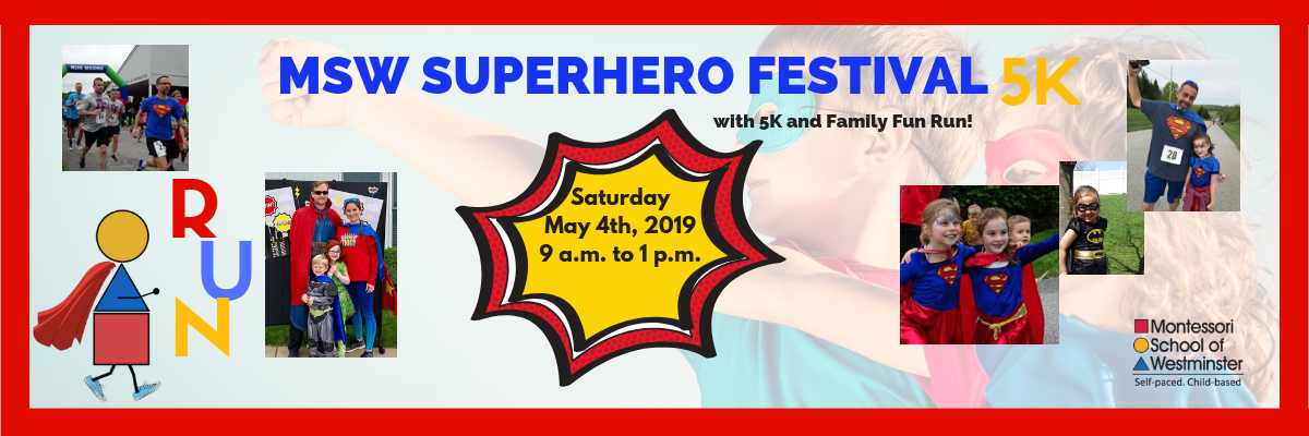 2019 MSW Superhero Festival with 5K and Family Fun Run! Banner Image