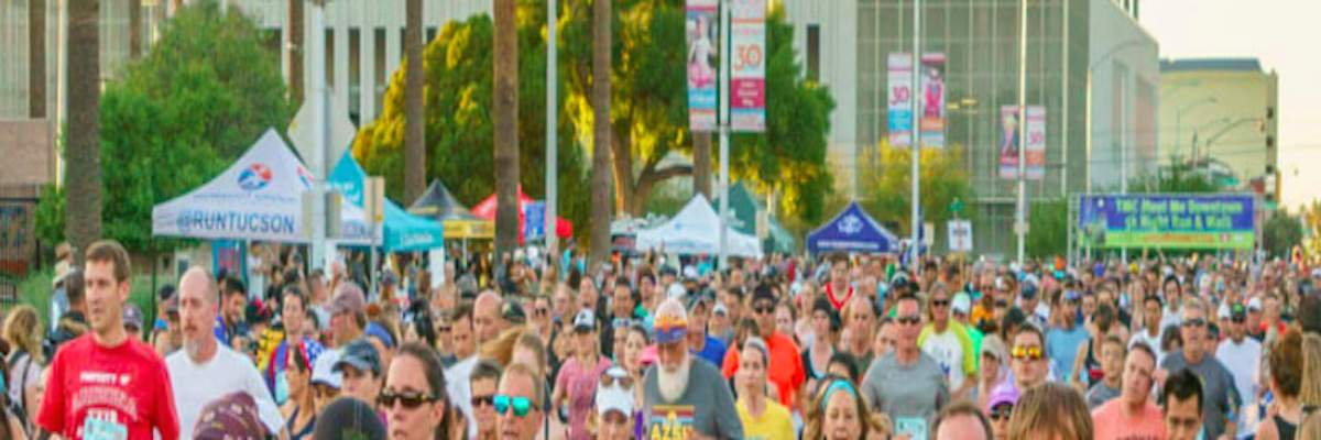 TMC Meet Me Downtown 5k Night Run/Walk and Festival of Miles Banner Image