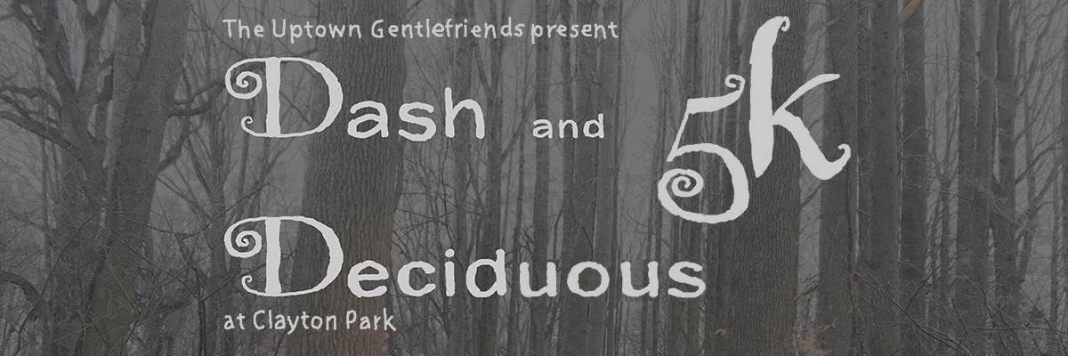 Dash and Deciduous 5k Banner Image