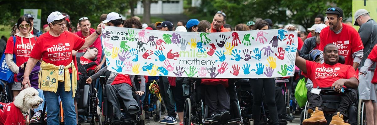 Miles for Matheny Banner Image