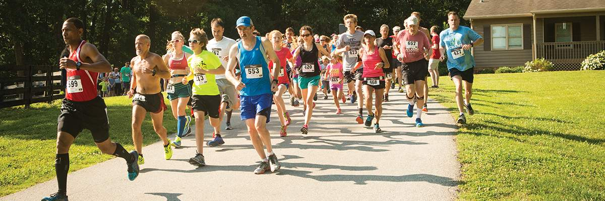RUN THE RANCH 5K and FUN RUN Banner Image