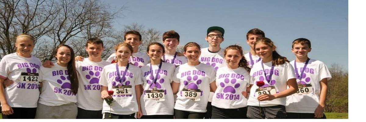 Big Dog 5k for Huntington's Disease Awareness Banner Image