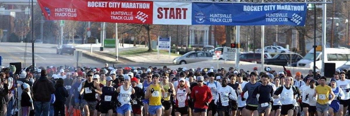 Rocket City Marathon Banner Image