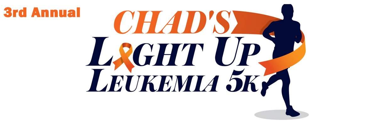 Chad's Light Up Leukemia 5k Banner Image
