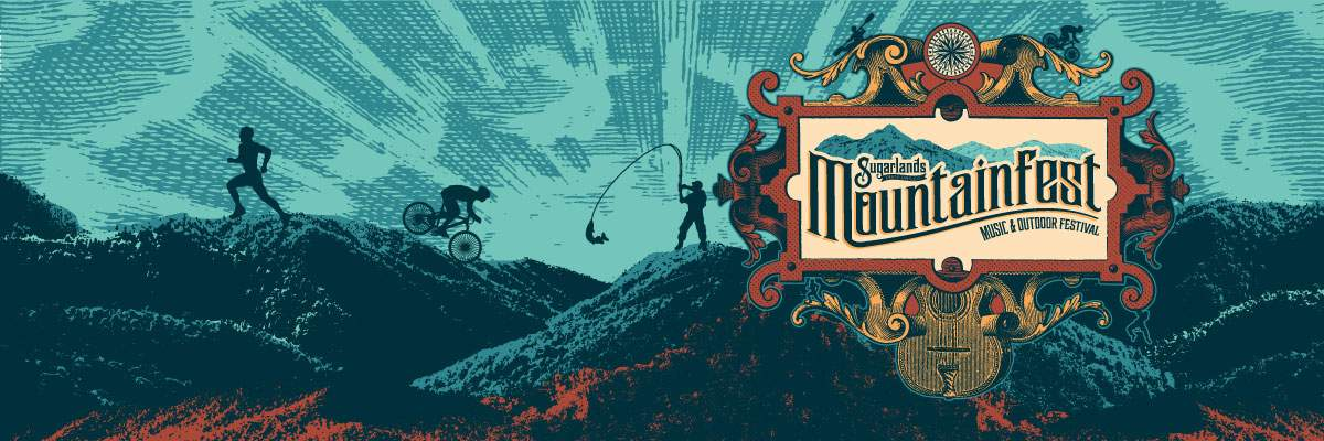 Sugarlands MountainFest Outdoor Run/Bike/Fish Event Series Banner Image