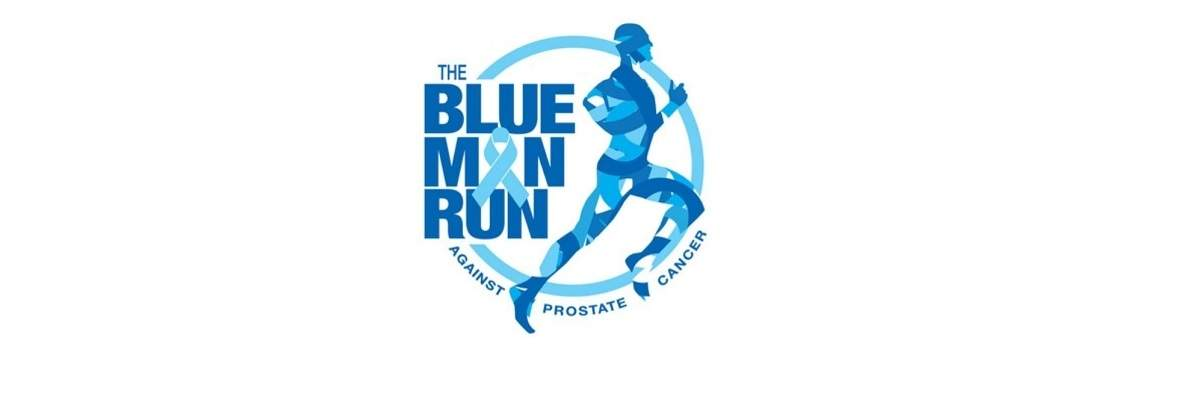 The Blue Man Run Banner Image