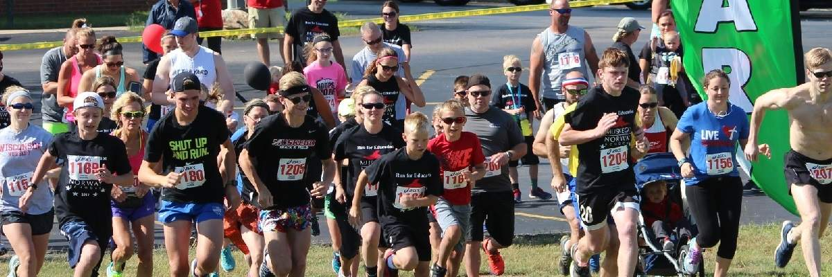 Muskego Norway School District - Run for Education Banner Image
