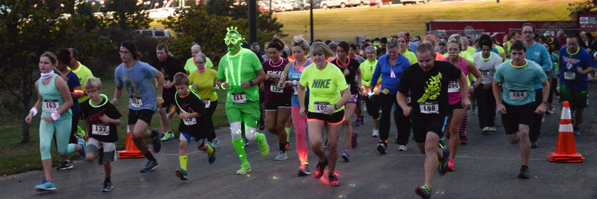 6th Annual Rogers Scholars 5K GLOW Run and Walk Banner Image