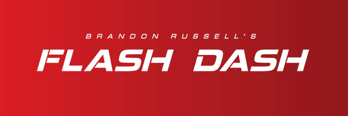 Brandon Russell's Flash Dash 5K Run/Walk Banner Image