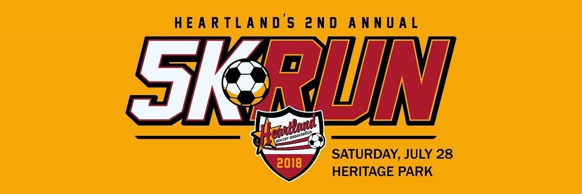 Heartland Soccer Association's 2nd Annual 5K Run Banner Image