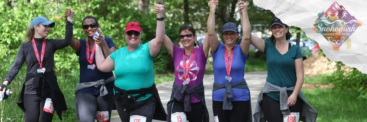 2019 Snohomish Women's Run Banner Image