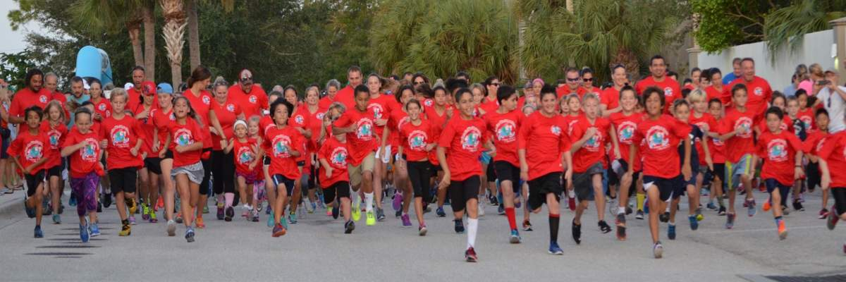 Phillippi Shores 5k - 1mile fun run Banner Image