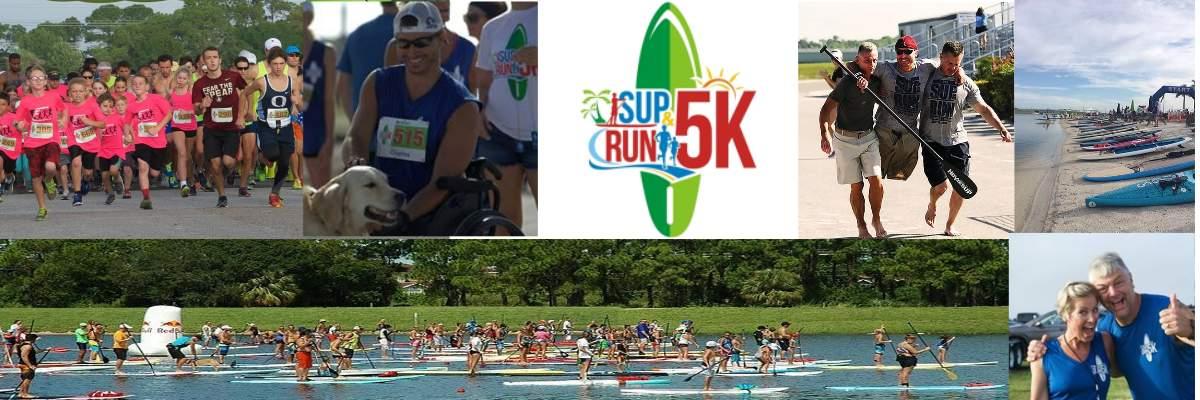 SUP & RUN 5K Banner Image