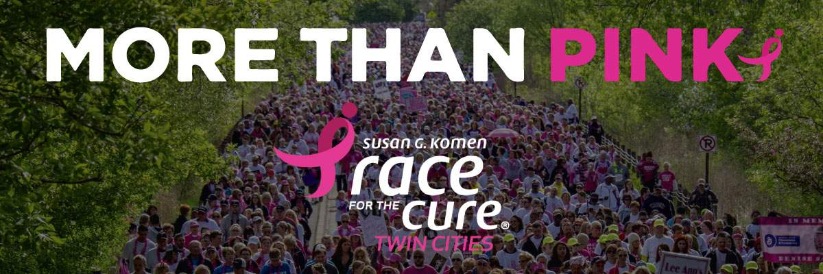 Susan G. Komen Twin Cities Race for the Cure Banner Image