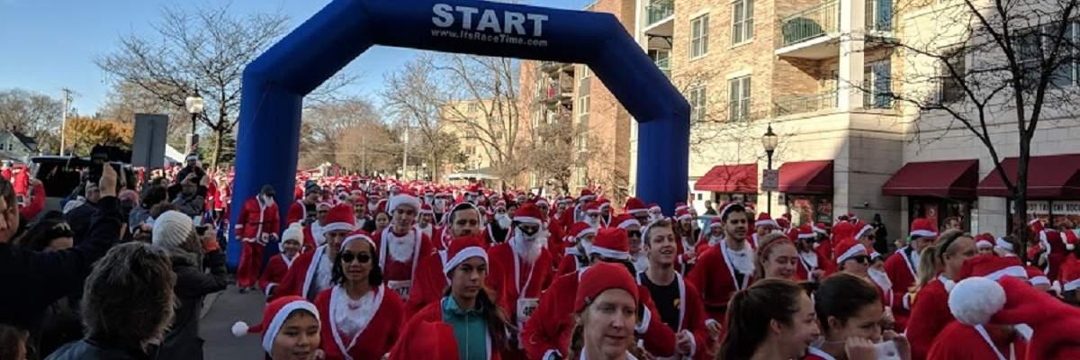 Rotary Santa Run Banner Image