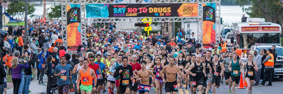 30th Annual Say No To Drugs Holiday Classic 5K, 10K & 1mi kids race  Banner Image