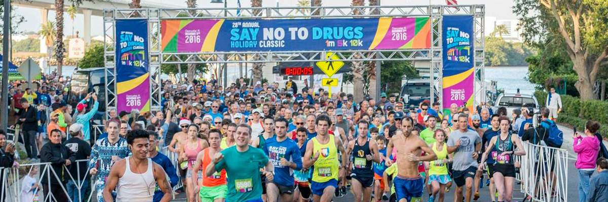 Say No To Drugs Holiday Classic 5K/10K/1mi Banner Image