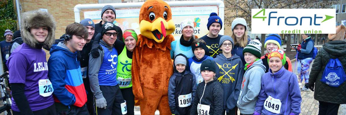 Traverse City Turkey Trot Banner Image