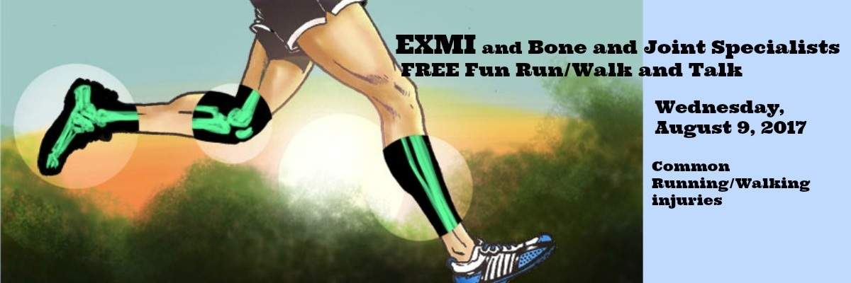 FREE Fun Run/Walk with Extra Mile and Bone and Joint Specialists