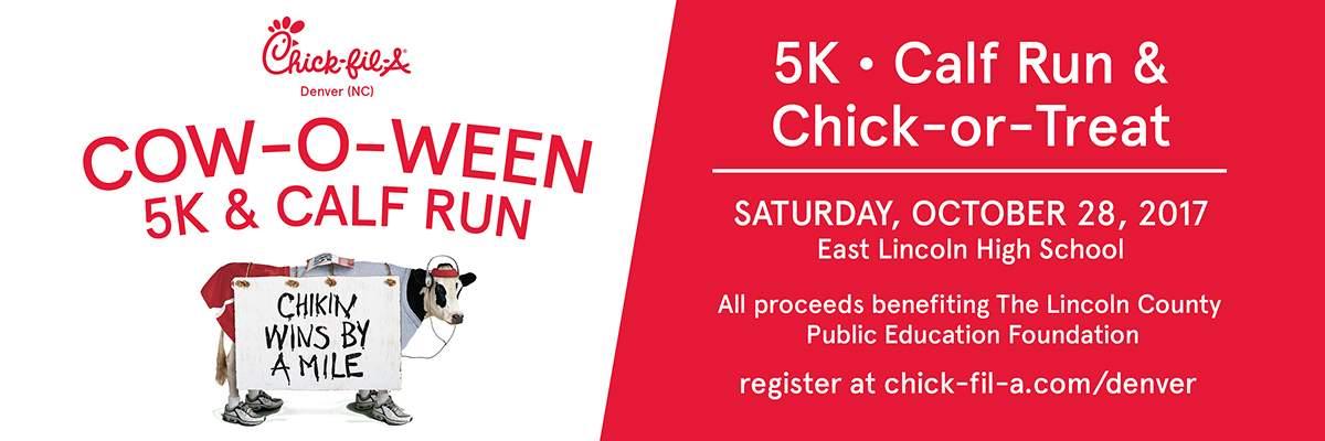 Chick-Fil-A Cow-O-Ween 5K Run
