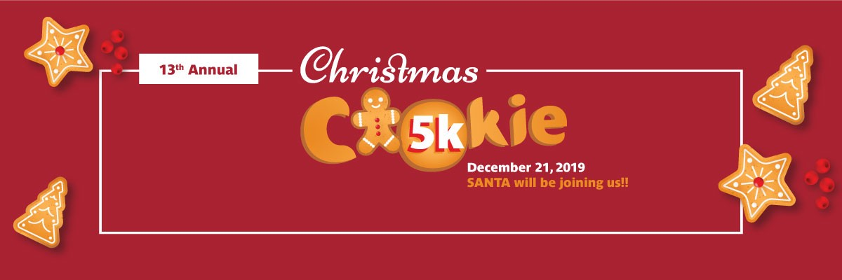 Christmas Cookie 5K Banner Image