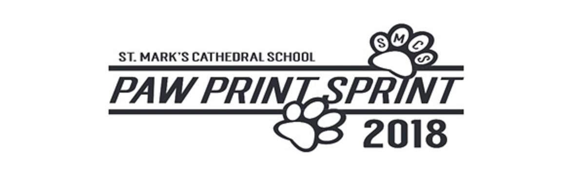 St. Mark's Paw Print Sprint 5k Banner Image