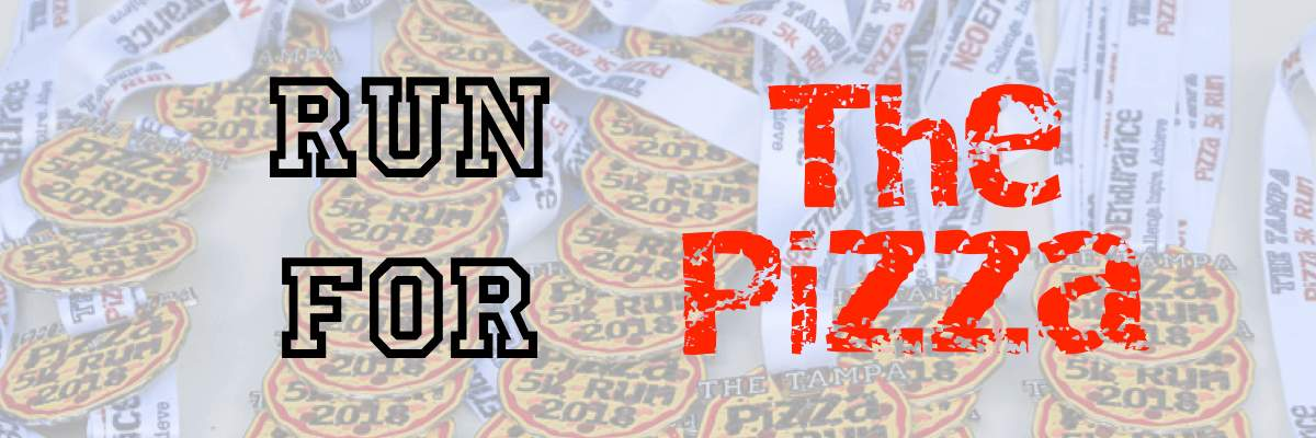 2nd Annual Tampa Pizza 5k Run Banner Image