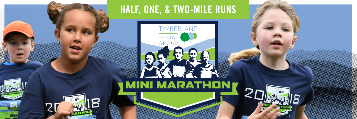Timberlane Dental Mini Marathon Banner Image