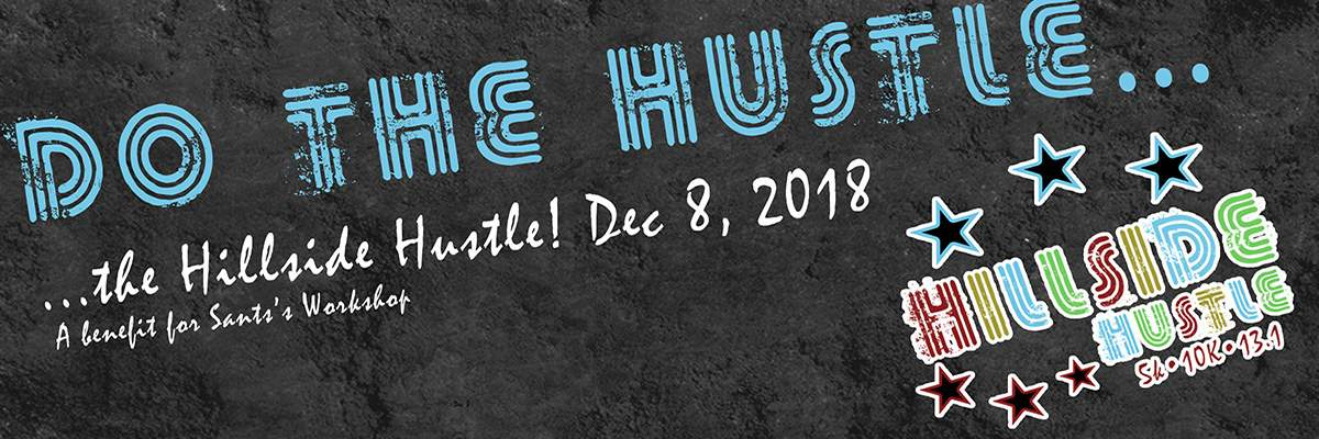 Hillside Hustle Half Marathon/10K/5K Banner Image