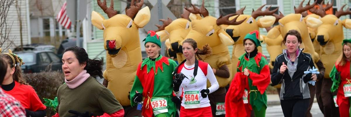 Rudolph Red-Nose Run Banner Image
