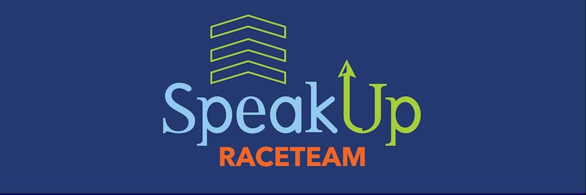 SpeakUp Race Team Banner Image