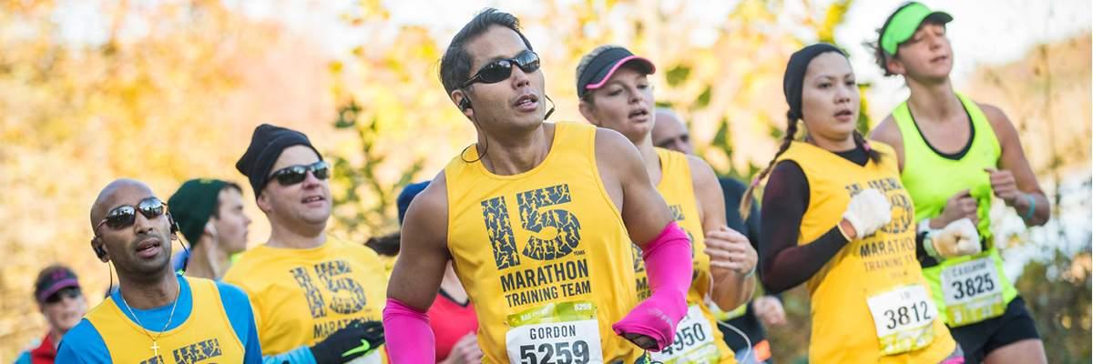 2018 Sports Backers Marathon Training Team Banner Image