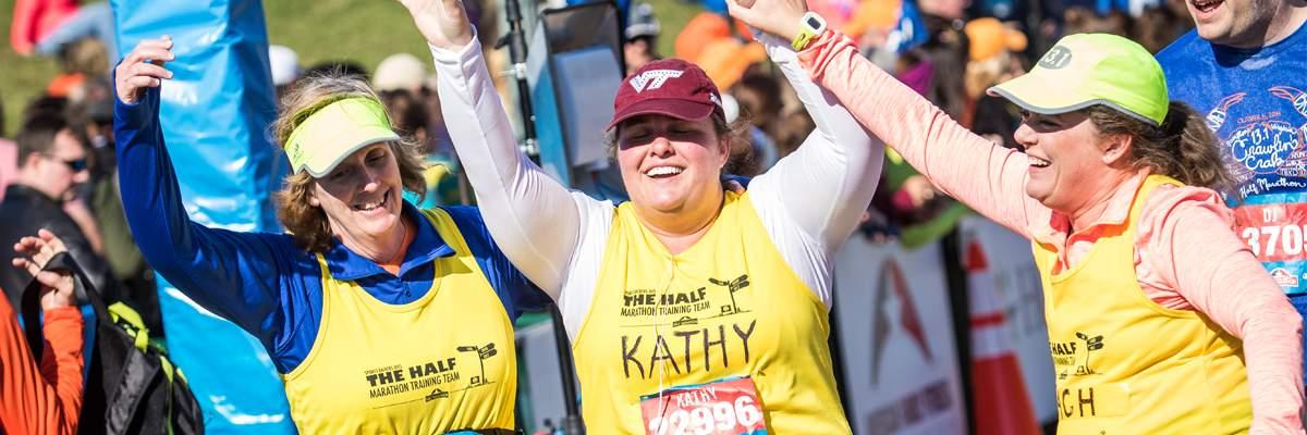 2018 Sports Backers Half Marathon Training Team Banner Image