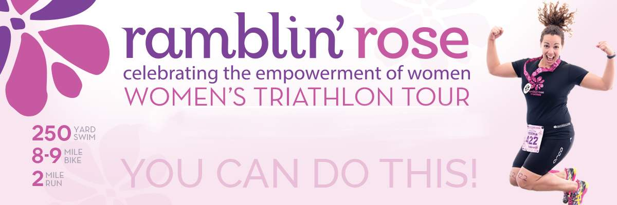 Ramblin Rose Women's Triathlon - Greenville (SC) Banner Image