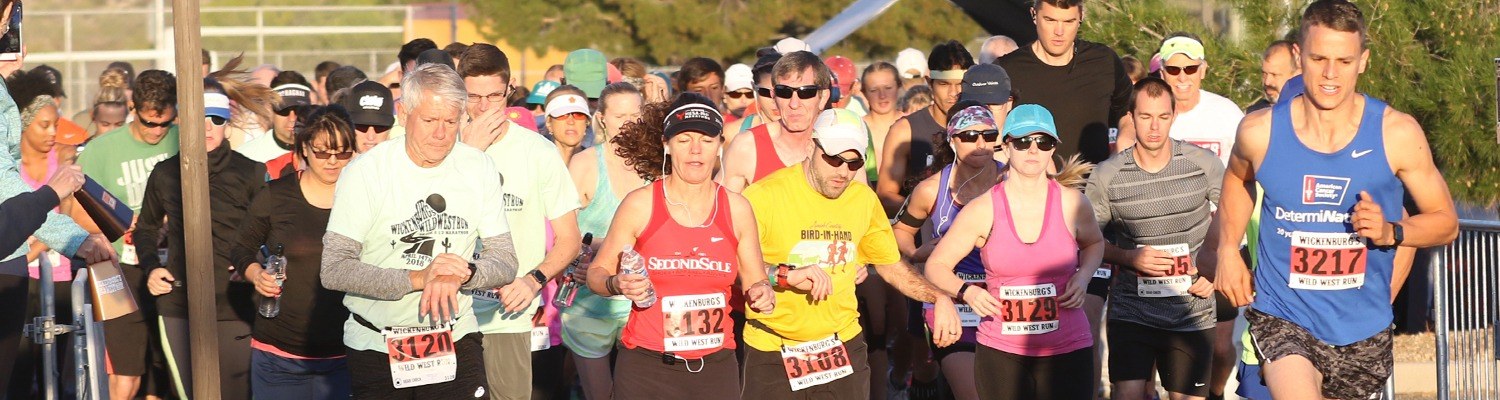 7th Annual Wickenburg's Wild West Run Banner Image