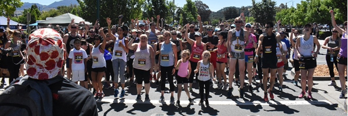 Pizza Fun Run 5k Banner Image