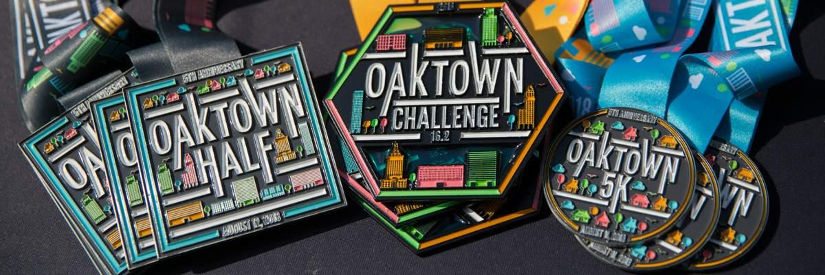 Oaktown Half Marathon Banner Image