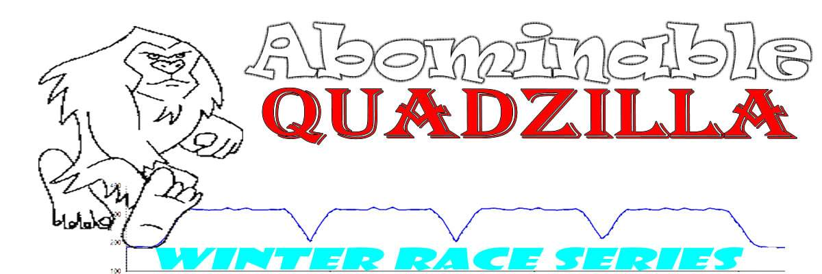 Abominable Quadzilla Winter Race Series Banner Image