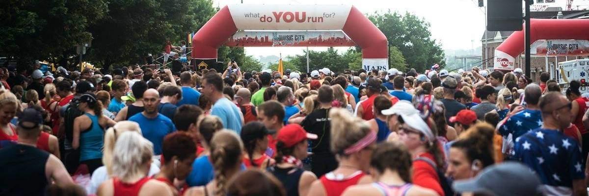 2018 Music City July 4th - 4 Mile Run/Walk Banner Image