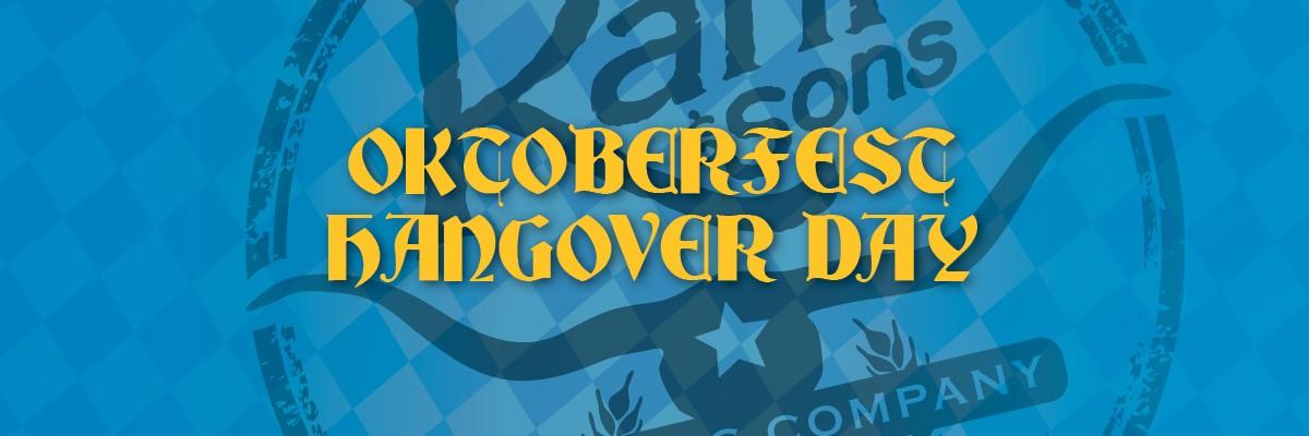 Rahr & Sons Oktoberfest 5K Oktoberfest Hangover Social Run Banner Image
