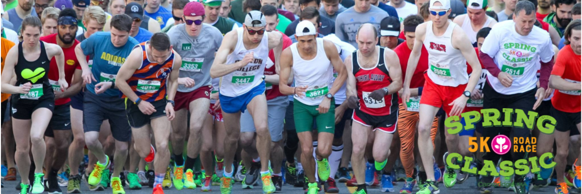 2019 Spring Classic 5K Banner Image