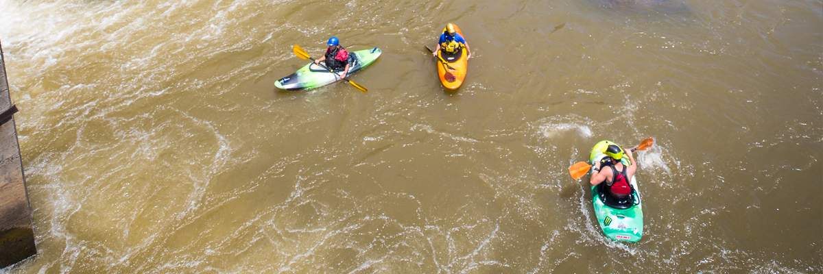 2019 Paddle Events at Dominion Energy Riverrock Banner Image
