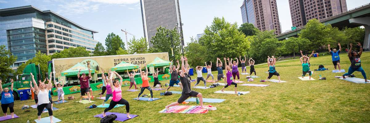2018 Yoga at Dominion Energy Riverrock Banner Image