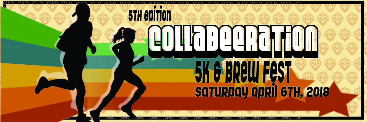 5th Edition CollaBEERation 5k & Brew Fest Banner Image